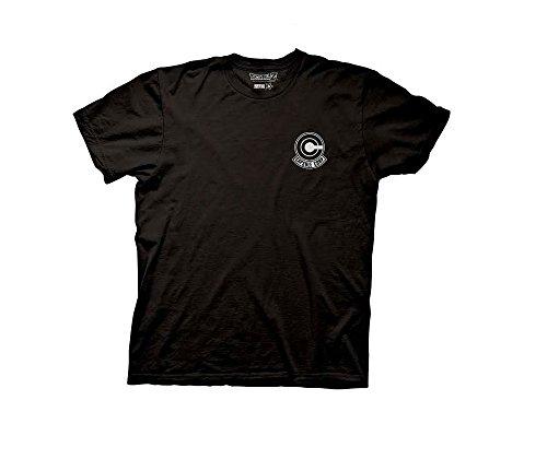 Dragon Ball Z Capsule Corp. Logo Mens T-shirt (Corp Logo T-shirt)