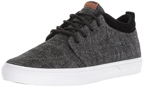 Globe Men's GS Chukka Shoe, Black Chambray, 12 M US (Chambray Footwear)