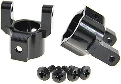 Front C Hub Aluminum for Axial SCX-10 II 90046 Black