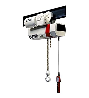 Coffing Ec Electric Chain Hoist Capacity 1 Ton Lift 20