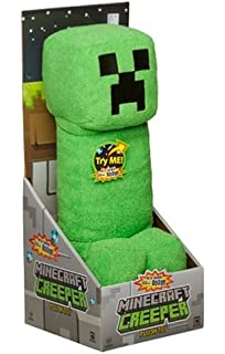 Mojang Official Minecraft Creeper Plush with Sound by Jinx, 14