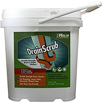 Amazon Com Drainscrub Powder Enzyme Drain Cleaner And