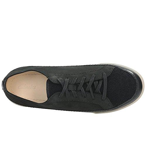 Clarks Holly Kombi Hidi Sneaker Damen Schwarzen 8xr84Rw