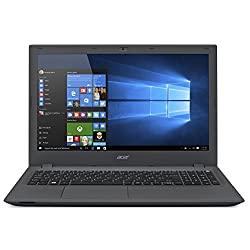 Acer Aspire E5-573 15.6-Inch Notebook (Iron) - (Intel Core i3-5005U, 8 GB RAM, 2 TB HDD, DVDRW, Windows 10)