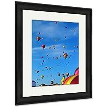 Ashley Framed Prints Dawn Patrol, Wall Art Home Decoration, Color, 35x30 (frame size), Black Frame, AG5449816