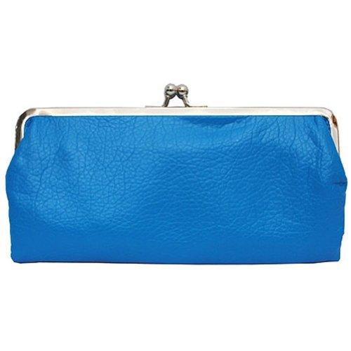 double frame vintage style clutch purse wallet turquoise - Double Frame Clutch Wallet