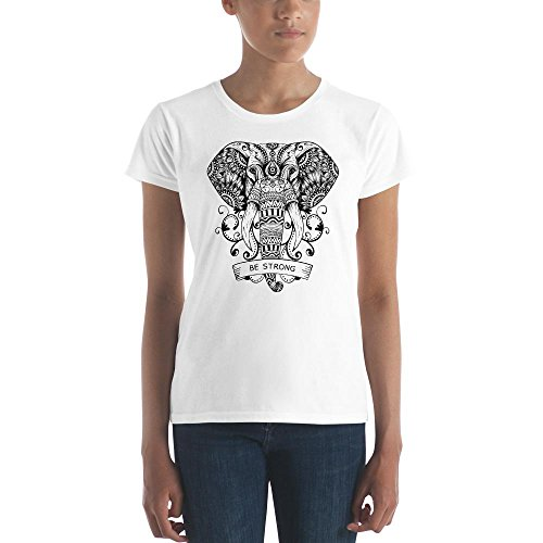 Medium Sycamore Springs - Sycamore Tee's Be Strong Elephant Tee