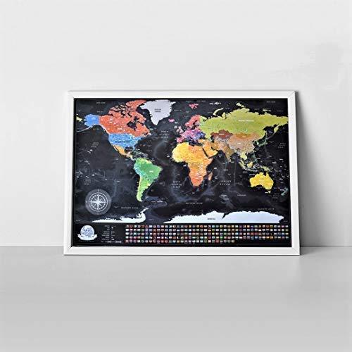 Incorniciati Mappa del mondo da grattare, Regalo da viaggio, Personalizzata Personalizzata Personalizzata Mappa, Cornice d'oro | Gli Ordini Sono Benvenuti  | Area di specifica completa  | In Breve Fornitura  | In Linea  | all'ingrosso  | Intelligente e pratico  | La prima serie  c1d1df
