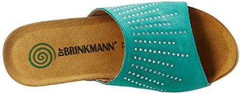 Dr. Brinkmann 701026 - Mules Mujer Verde