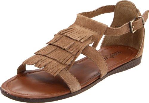 Minnetonka Ibiza 71302TPE - Zapatos de pulsera de cuero para mujer Beige (Taupe / TPE)