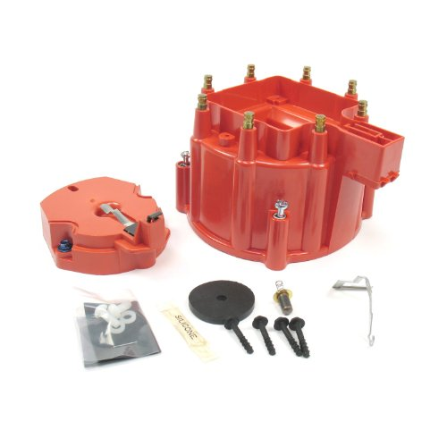 Pertronix D4001 Flame-Thrower Red HEI Distributor Cap and Rotor - Flame Thrower Distributor