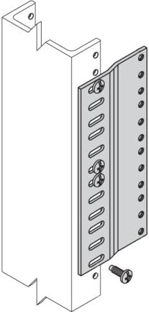 Gray Cooper Adapter Plate for Rack