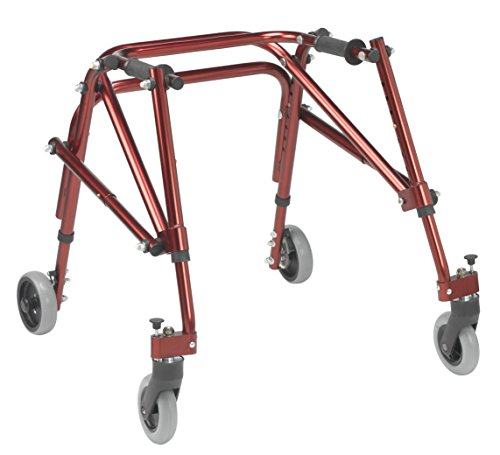 Inspired by Drive Nimbo 2G Lightweight Posterior Walker, Castle Red, S