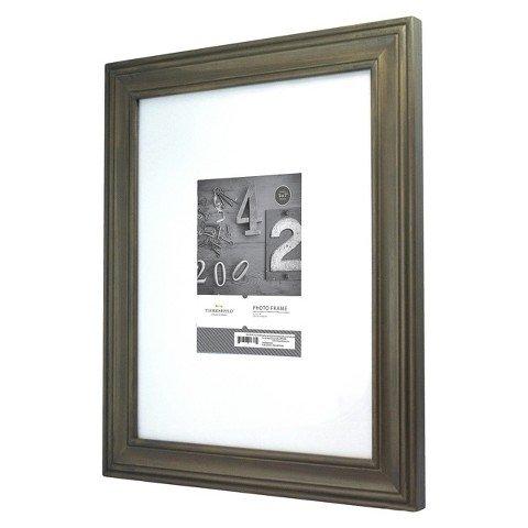 "Thresholdâ""¢ Distressed Frame Grey 5x7"