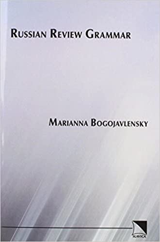 Book Russian Review Grammar by Marianna Bogojavlensky (1982-06-01)