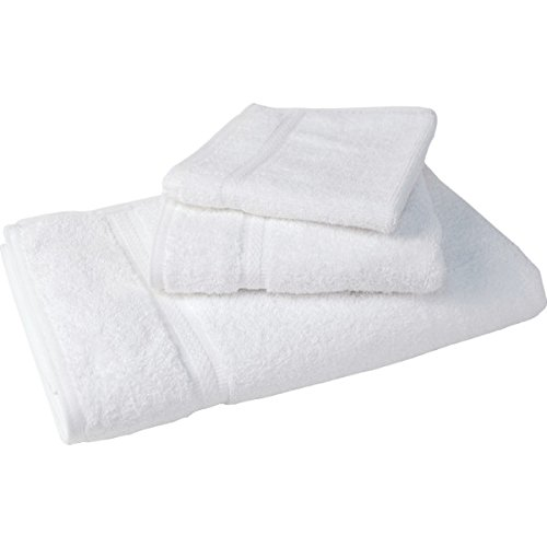 Holiday Inn Express Bath Towel Dobby 27X54 15 Lbs Dozen White Case Of 48