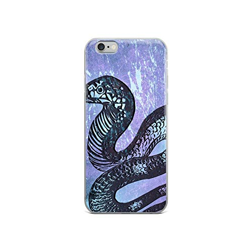 iPhone 6/6s Case Anti-Scratch Creature Animal Transparent Cases Cover Snake Animals Fauna Crystal Clear