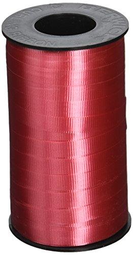 Berwick 3/8-Inch Wide by 250 Yard Spool Super Curl Crimped Splendorette Curling Ribbon, Red 250 Ribbons