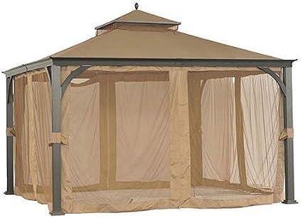 Garden Winds 12 X 12 Soft Top Gazebo Replacement Canopy Riplock 350 Garden Outdoor