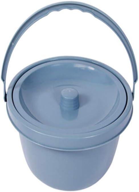 SSRSHDZW IR Al Baño Reemplazo De Repuesto Baño Baño Higiénico Cuña Médica Chapoteo Cubo De Ancianos Portátil Cubo De Silla De Inodoro con Tapa Anti-Olor Portátil De Casa