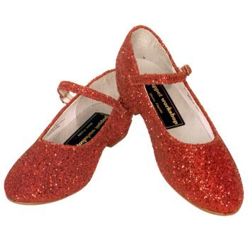 9f5f3effbf0fa Amazon.com | Red Glitter Dorothy Shoes for Child ~ Granton 1697 SIZE ...