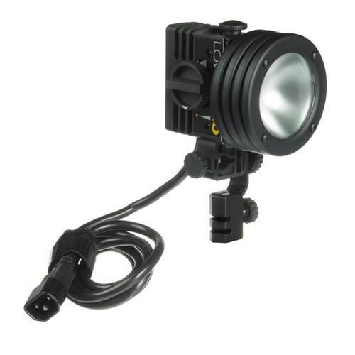Lowel Pro-light, Focusing Multi-voltage Quartz Halogen Light for 12, 30 or 120v, with GCA 250 watt 120 volt Lamp. Focusable Halogen Light