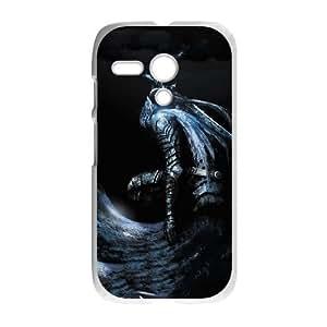 Motorola G Cell Phone Case White Dark Souls sxcq