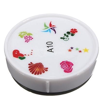 Amazon.com: (tipo A10) impresora arte de uñas almohadilla ...