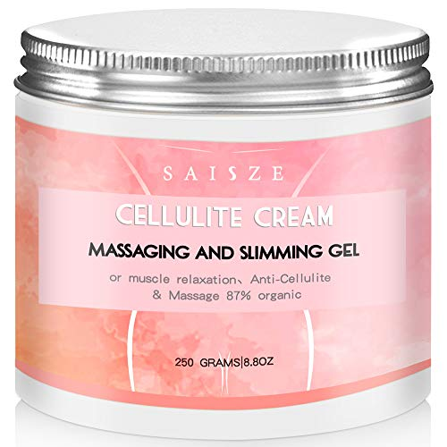 SAISZE Anti Cellulite Body Slimming Cream, Hot Cream Treatment & Weight Loss,Belly Fat Burner for Women and Men, 8.8oz. ...