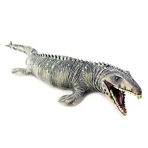 (Simulation Big Mosasaurus Dinosaur Toy Soft PVC Action Figure Hand Painted Animal Model Dinosaur Toys for Children Gift)