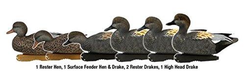 Greenhead Gear Pro-Grade Duck Decoy,Gadwall,1/2 (Dozen Duck)