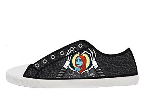 De Nachtmerrie Voor Kerst Logo Ladys Antislip Canvas Schoenen Tnbc Canvas Shoes03