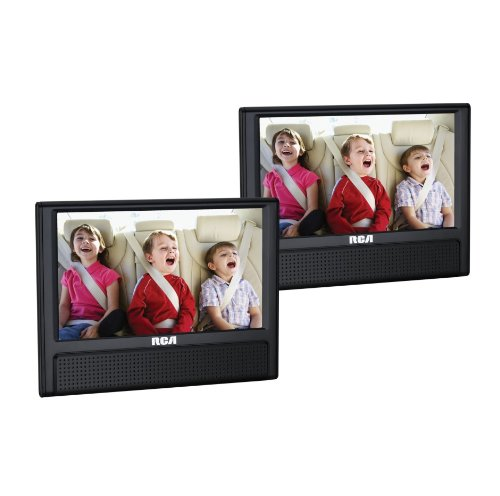 RCA 9-Inch Mobile DVD Player with Additional 9-inch Screen (DRC79982) by RCA