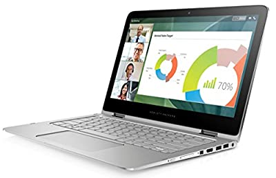 "HP Spectre x360 G1 13"" Convertible Laptop PC - Intel Core i7-5600U 2.60GHz 8GB 512GB SSD Windows 10 Pro (Certified Refurbished)"