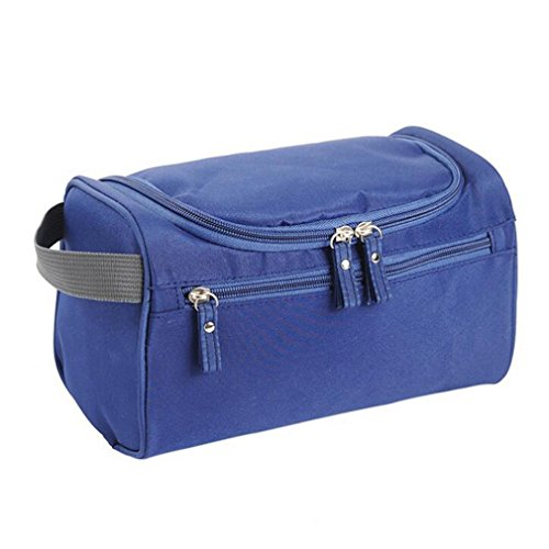 Men Travel Cosmetic Bag Functional Hanging Zipper Makeup Case 5 by Hightider