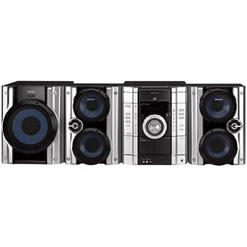 Amazon Com Sony Mhc Gx450 3 Disc Cd Shelf System With