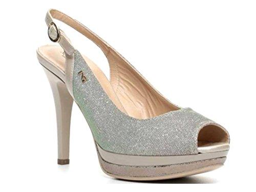 Nero Giardini - Sandalias de vestir para mujer savana