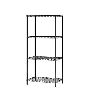 mulsh wire shelving 4 tier metal wire shelf
