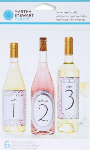 s Doily Lace Beverage Labels (Doily Lace Labels)