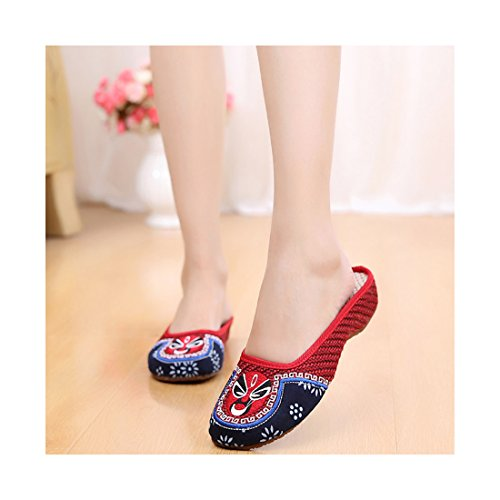 Chaussures Chinoises Chaussures Brod Florales Florales 8RHFq