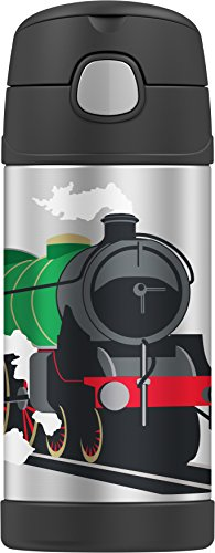 Thermos Funtainer Ounce Bottle Locomotive