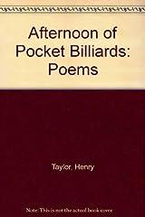 Afternoon of Pocket Billiards: Poems Hardcover