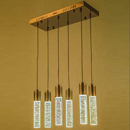 FidgetKute LED Bubble Crystal Ceiling Light Dining Room Pendant Lamp Lighting Chandelier Single-headsingle-Head by FidgetKute (Image #6)