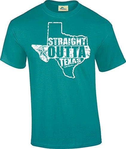 Hip Together Straight Outta Texas Unisex Tee (Small, - Village Port Bridge