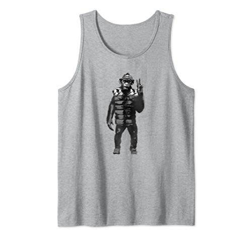 War for the Planet of the Apes Bad Ape Tank Top (Cast War Of The Planet Of The Apes)