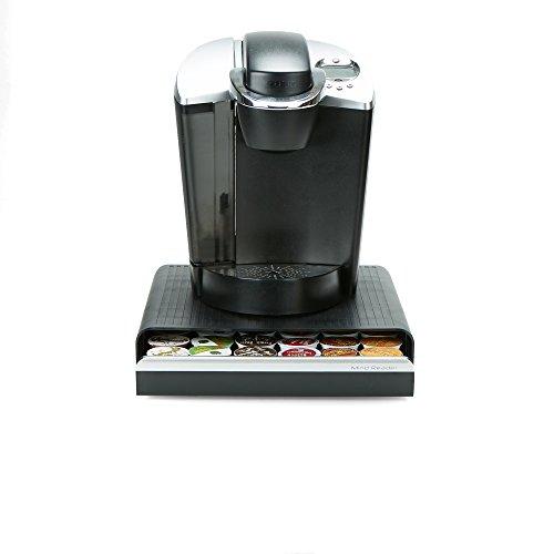 Mind Reader CAP36T-BLK Hero' Coffee Pod Drawer Storage, K-Cup Dolce Gusto CBTL Verismo, Black, One Size 2 by Mind Reader (Image #7)
