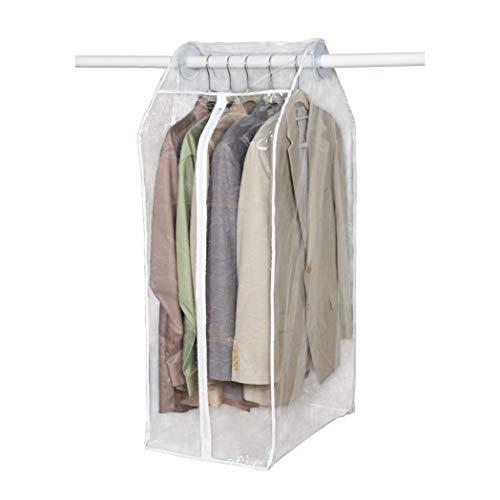 Richards Homewares Clear Vinyl Framelss Suit Bag (15