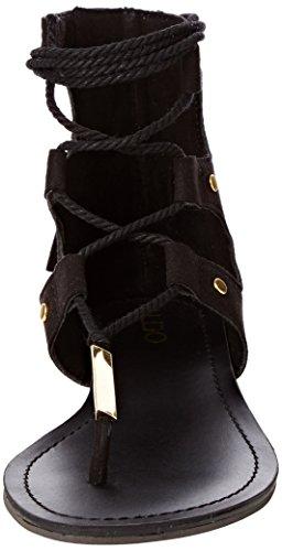 Knöchelriemchen Black ALDO Schwarz 98 Sandalen Damen Jakki H61q6w