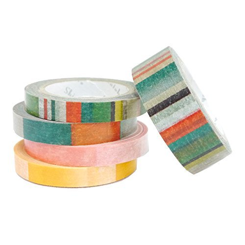 SEAL-DO Natti Light - Washi Tape - Made in Japan - Set of 5 by SEAL-DO
