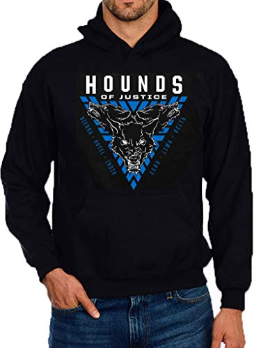 WWE The Shield Hounds of Justice 2019 Pullover Cotton Hoodie Black -